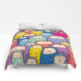 Color Monsters Comforters
