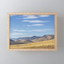 East of Steens Framed Mini Art Print