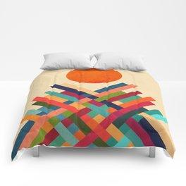 Sun Shrine Comforters