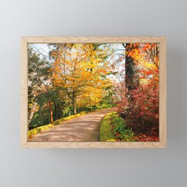 Autumn colors Framed Mini Art Print