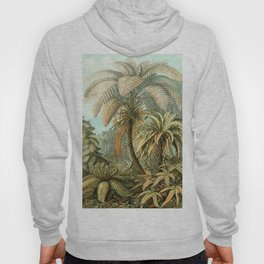 Vintage Tropical Palm Hoody