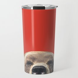 Bear - Red Travel Mug