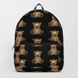 Teddy Bear Cub Cartoon Backpack