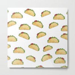 Too many tacos Metal Print