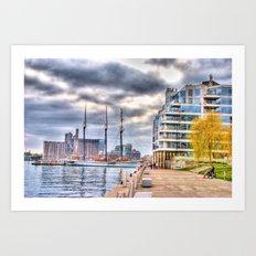 harbourfront toronto Art Print