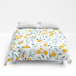 Orange Tree Comforters