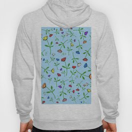 Colorful Flower Toss Hoody