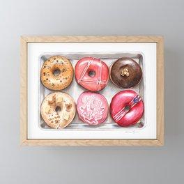 Glorious Glazed Donuts Framed Mini Art Print
