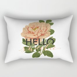Hello Sweetie Rectangular Pillow