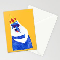 Ice King looks Crazy Seeyak! Collage Stationery Cards