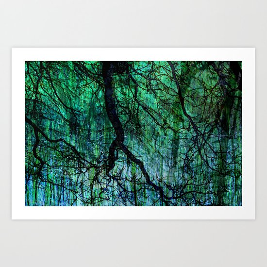 Treeland Art Print