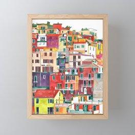 Cinque Terre Framed Mini Art Print