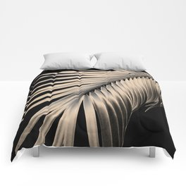 Palm Leaf Dream #1 #tropical #decor #art #society6 Comforters