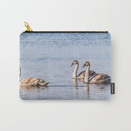 Swans on the water Carry-All Pouch