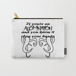 Abomination Carry-All Pouch