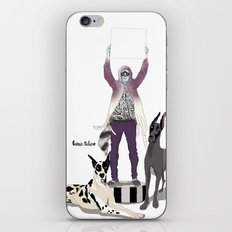 Silencio iPhone & iPod Skin