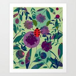Ladybug Life Art Print