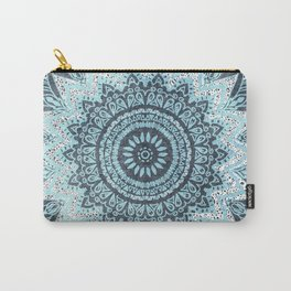 BOHOCHIC MANDALA IN BLUE Carry-All Pouch