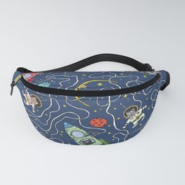 What will a cat do in space Fanny Pack