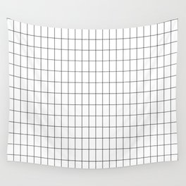 City Grid Wall Tapestry