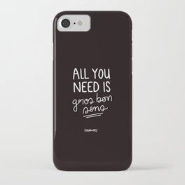 Gros Bon Sens - White iPhone Case