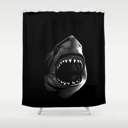 Megalodon Shower Curtain