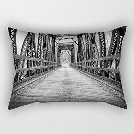 Old Train Bridge Bath, NH Rectangular Pillow