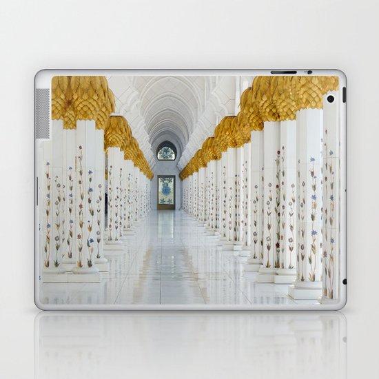 Down the golden white Laptop & iPad Skin