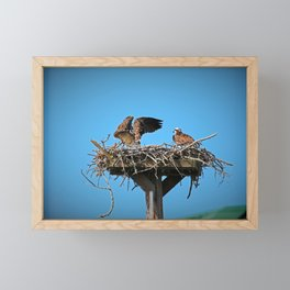 When Your Spouse is Being Dramatic II Framed Mini Art Print