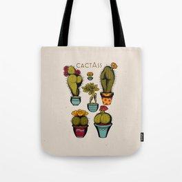 Cactass Tote Bag