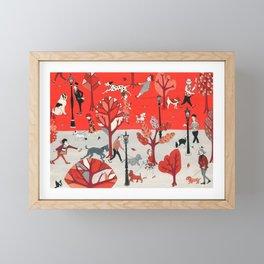 Doggone Dog Is Mine Framed Mini Art Print