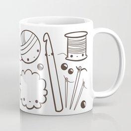 crochet cute - kawaii craft supplies Coffee Mug