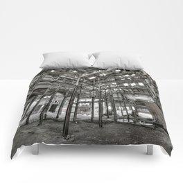 Metallic Structures Comforters