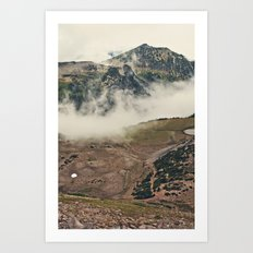 Mountain Hike Art Print