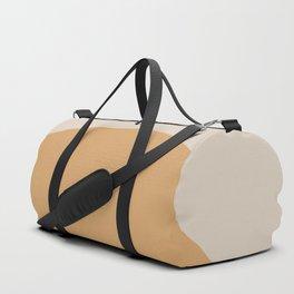 Neutral 70's Minimal Sunset Duffle Bag