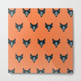 Wolves at Dawn Metal Print