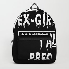 Pregnant Ex Girlfriend Scariest Costume Ever Backpack