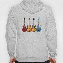 Four Electric Guitars Hoody