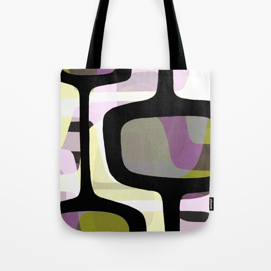 Mid Century Abstract 1 Tote Bag