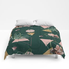 Succulents Atoms #society6 #decor #buyart Comforters