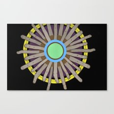 radial blame I Canvas Print