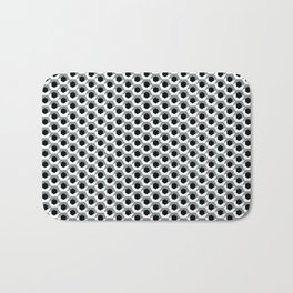 Hex shadow pattern  Bath Mat