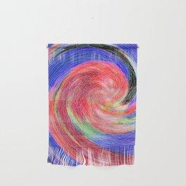 Flower Swirl Wall Hanging