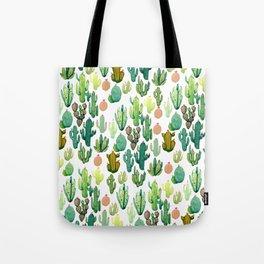 ramdom cactus Tote Bag