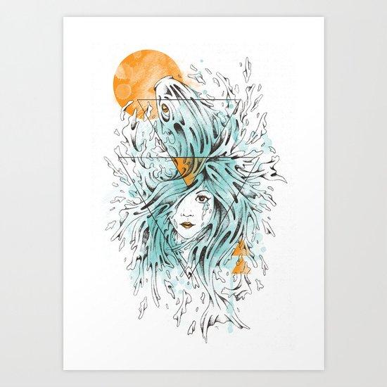 ariel 2.0 Art Print