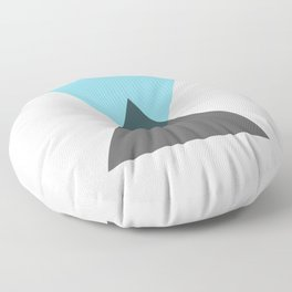 Two Triangles Floor Pillow