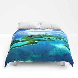 70 Wild Islands Palau Comforters