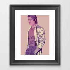 80/90s - Jai. Lns Framed Art Print