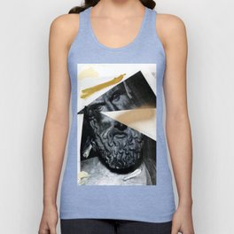 Untitled (Painted Composition 12) Unisex Tank Top