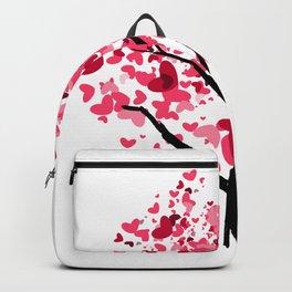 2HW-heart tree Backpack